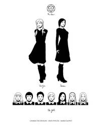 EROS PSYCHE Characters 2