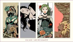 Tarjetitas Salon Manga