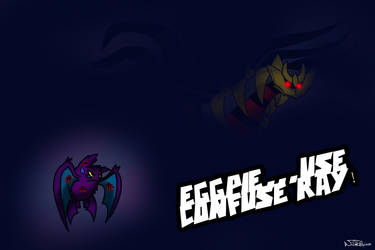Eggpie's last attack by WildRabiea