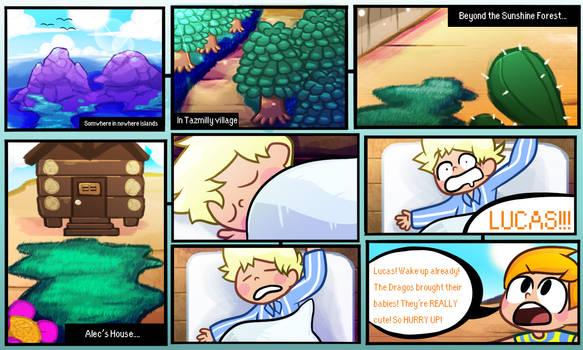 MOTHER 3 - Prologue - Page 1