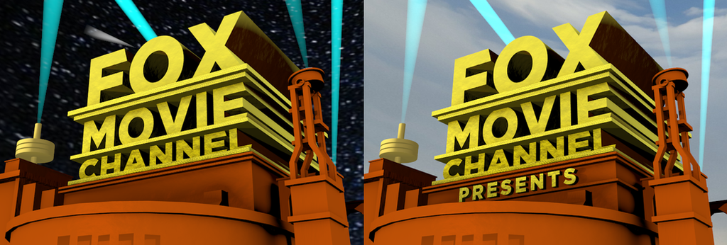 fox movie channel 2005 logo remake by logomaxproductions