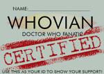 WHOVIAN ID
