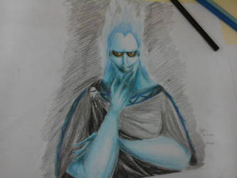 Hades (on the paper) by Doqida