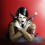 More Hitler... by Doqida