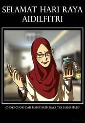 Salam Aidilfitri. by Doqida