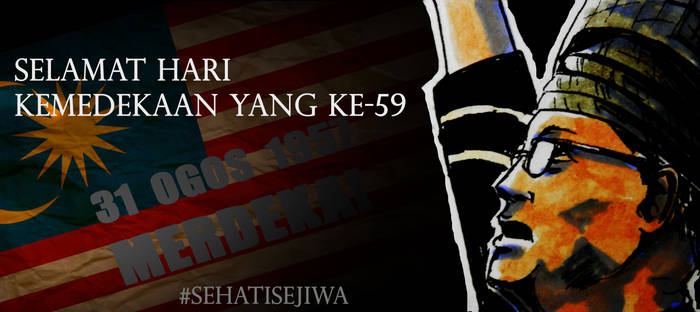 Malaysia 59th Independence Day by Doqida