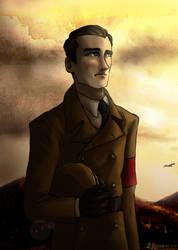 Rudolf Hess by Doqida