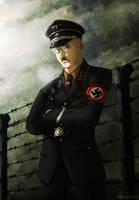 Heinrich Himmler by Doqida