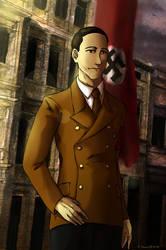 Joseph Goebbels by Doqida