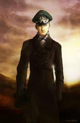 Erwin Rommel by Doqida