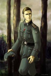 Joachim Peiper by Doqida