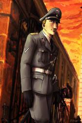 Reinhard Heydrich by Doqida