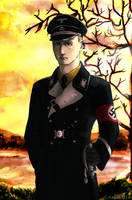 Joachim Von Ribbentrop by Doqida