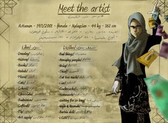 Meet The Artist. by Doqida