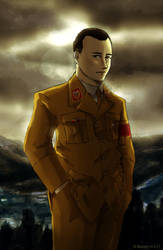 Martin Bormann by Doqida