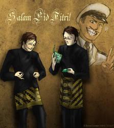 Salam Eid! by Doqida