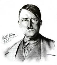Hitler by Doqida