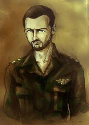 Bassel al-Assad  [Commission] by Doqida