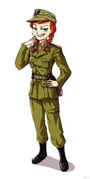 Fraulein Anna [Commission]