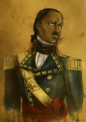 Toussaint Louverture [Commission] by Doqida