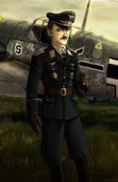 Adolf Galland by Doqida