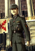 Leon Degrelle by Doqida