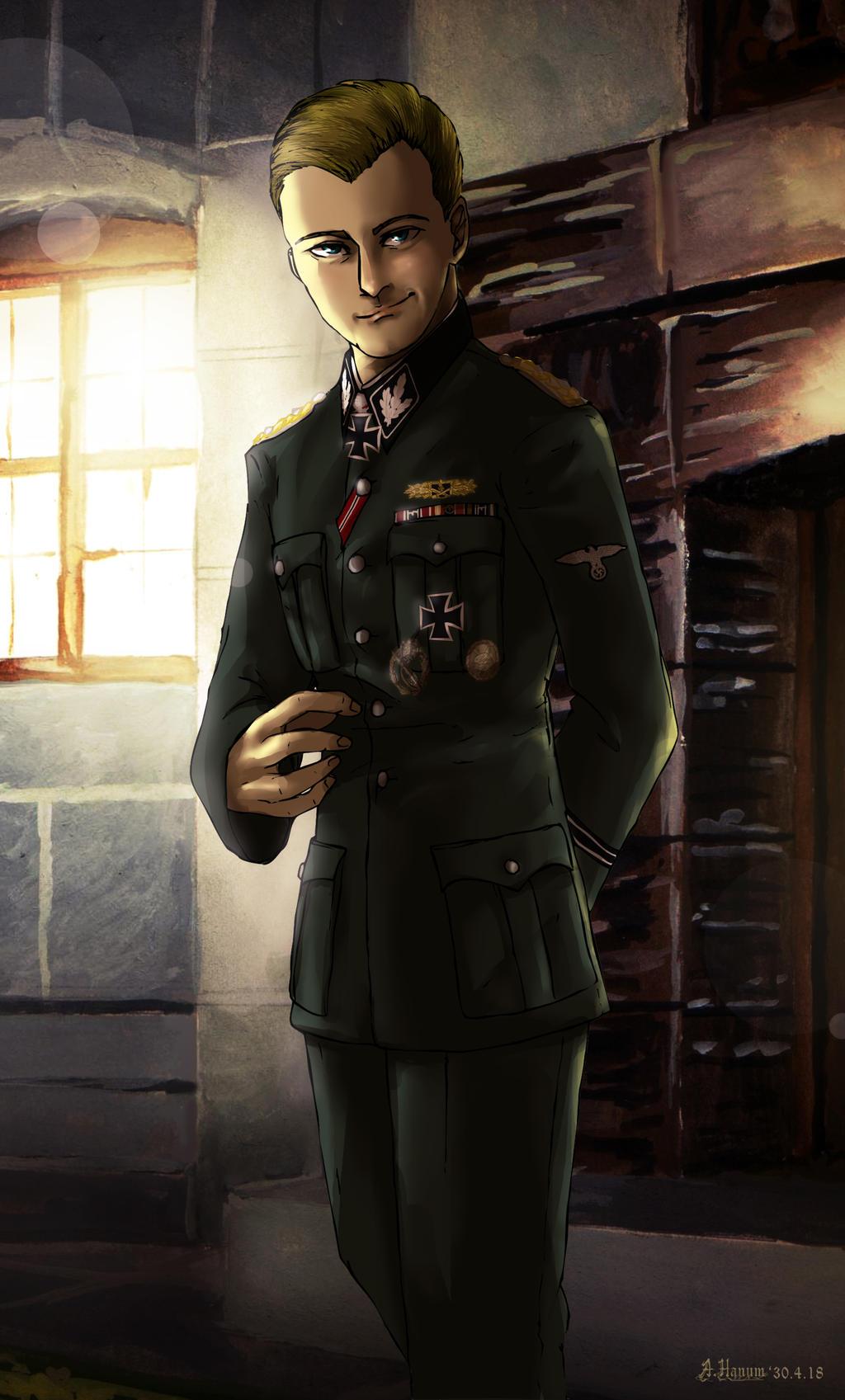 Hermann Fegelein by Doqida