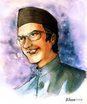 Young Mahathir by Doqida