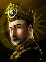 Sultan Muhammad V by Doqida