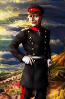 Helmuth von Moltke the Elder [Commission] by Doqida