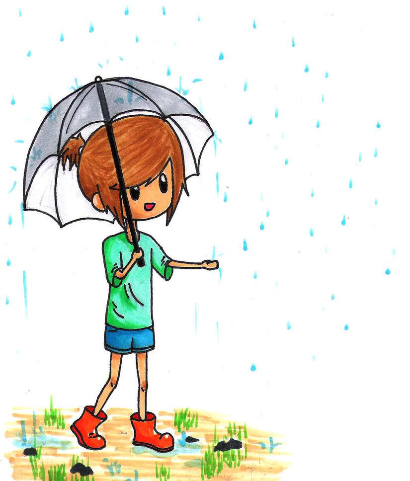 Umbrella ella ella by Anime-Maker