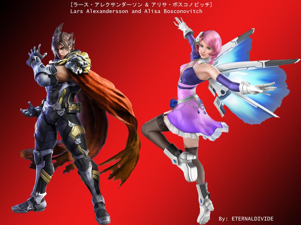 Lars And Alisa (Tekken 7 Version) By ETERNALDIVIDE On