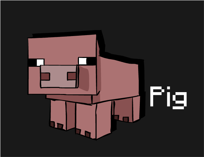 minecraft pig wallpapers download - photo #14