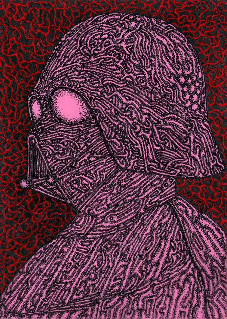 Pink Vader by OKAINAIMAGE