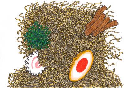 RAMEN by OKAINAIMAGE