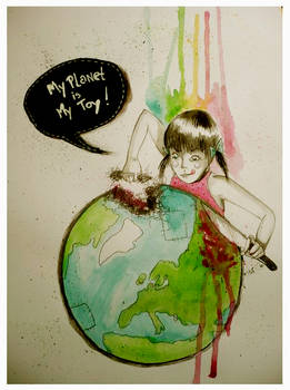my planet is my toy