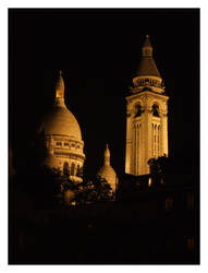 Basilica of the Sacre Coeur by muratalibaba
