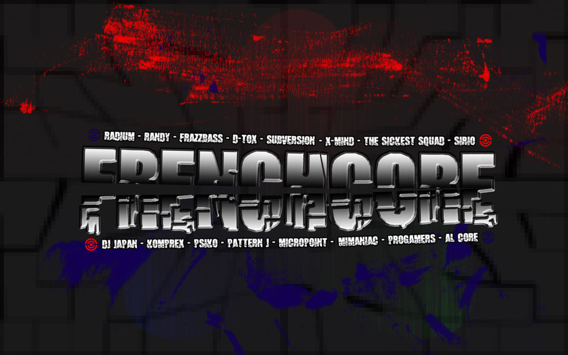frenchcore djs - wallpaperatackmen on deviantart