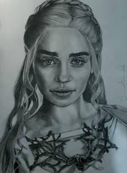 Daenerys Targaryen by donaldblan