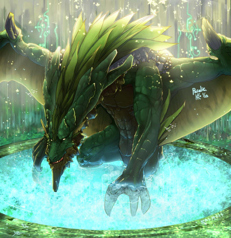 Green Dragon : Heaven Forest by Pacelic