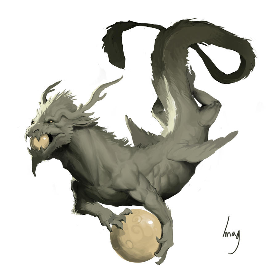 dragon by Pacelic