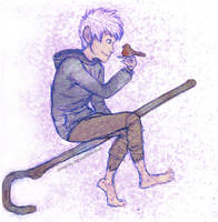 Jack Frost and the Robin by Deesney