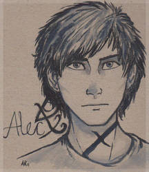Alec Lightwood by Deesney