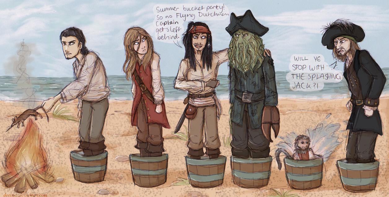 Summer Bucket Party by Deesney
