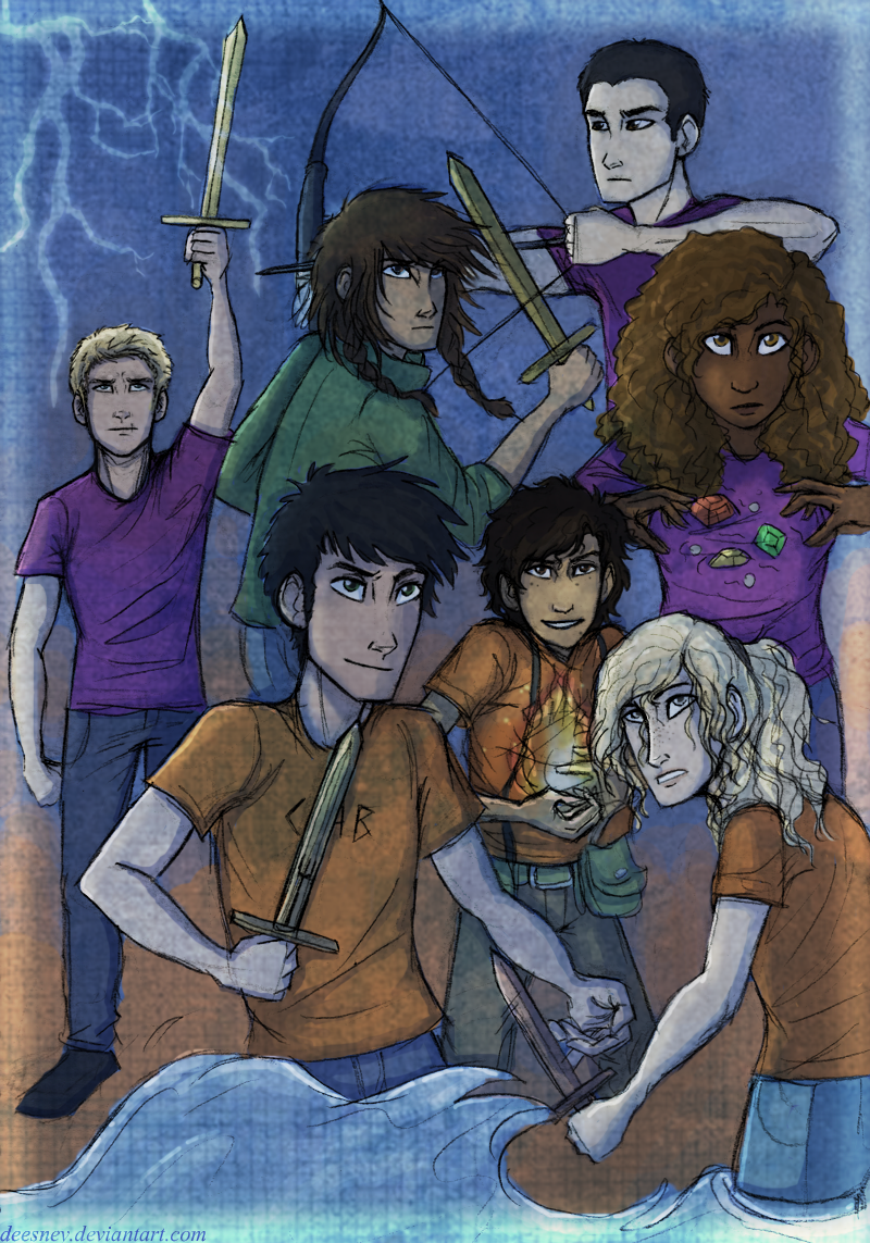 The Heroes Of Olympus by Deesney on DeviantArt