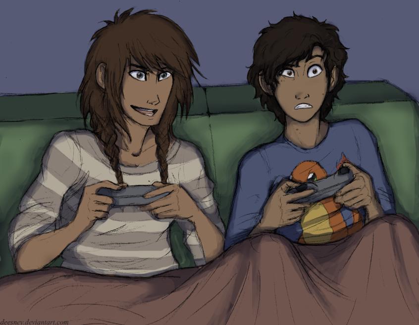 Gaming Night by Deesney
