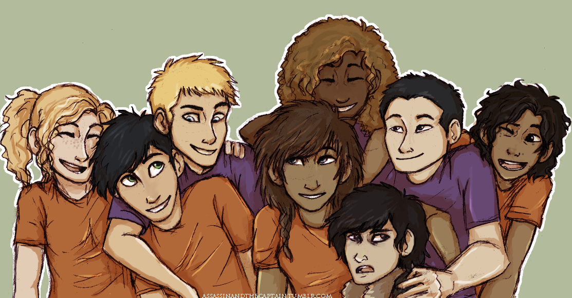 Demigod Group Hug by Deesney