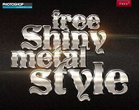 Free Shiny Metal Style