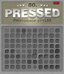 80 Free Photoshop Pressed Styles