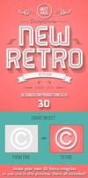 New Retro 3D Creator